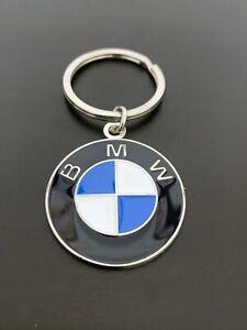Car BMW Accessories 3D Car Logo Silvery Metal Keyring keychain