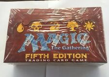Magic Fifth 5th Edition Booster Box English Factory Sealed MTG FASC