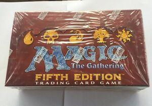 Magic Fifth 5th Edition Booster Box English Factory Sealed MTG FASC