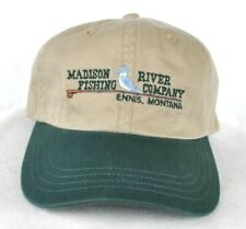 *MADISON RIVER FISHING CO. MONTANA* Trout Fly Fishing Ball cap hat *IMPERIAL*