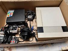 Nintendo NES Konsole mit 4 Spielen + Alle Kabel