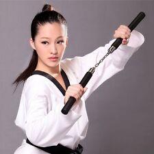 Martial Arts Nunchucks Weapon Foam Sponge Karate Ninja Nunchucks Metal Chain FT