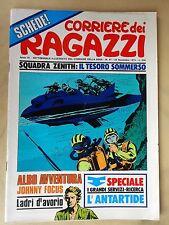 CORRIERE DEI RAGAZZI 1974 n° 47  - OTTIMO - CON INSERTO: SCHEDA POSTER