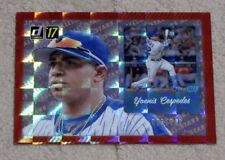2017 Donruss Baseball YOENIS CESPEDES AS-12 All Stars Refractor Insert /149