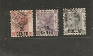 Lot  British Colonies & Territories > Hong Kong 1 used V.F.