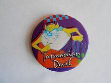 Vintage 1992 Warner Bros Tasmanian Devil Character Pinback Button