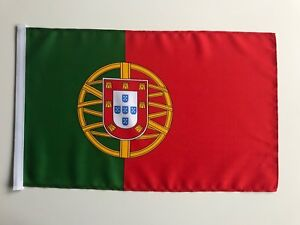 Fahne Flagge Portugal 30x45 cm mit Schaft