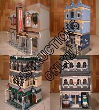 GET 100+ CUSTOM LEGO INSTRUCTIONS like many MODULAR BUILDINGS great 4 Lego 10182