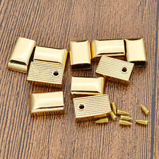 New End Tips Zipper Luggage Hardware Accessories Button 10 Pcs