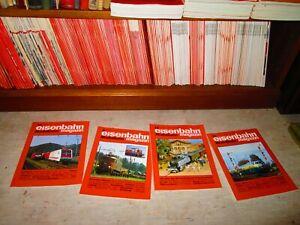 Eisenbahn Modellbahn Magazin / Moderne Eisenbahn. 1965-1998 komplett