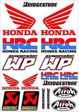 Kit Adesivi replica Honda HRC WP AIROH Motocross sticker Adesivi auto e moto