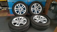"GENUINE VW AMAROK  19"" ALLOY WHEELS + 255 55 19 Continental TYRES"