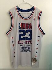 Authentic Michael Jordan All Star Mitchell & Ness  Jersey Men's Size 56 Rare