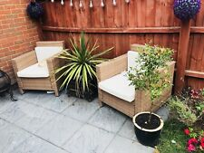rattan garden furniture X12 Piece Colchester Pick Up Only message for details