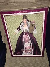 New 1999 Collector Edition Mattel Victorian Barbie & Cedric Bear