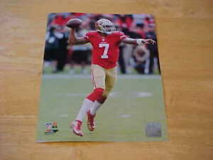 Colin Kaepernick 49ers Action LICENSED 8X10 Photo FREE SHIPPING 3/more