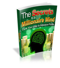 Make Money With Millionaire's Mind Secrets - Think Your Way To Riches CD-ROM)