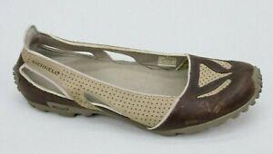 Merrell Womens Ballet Slip On Flats Shoes Size 8.5 Ocean Sand Beige Brown