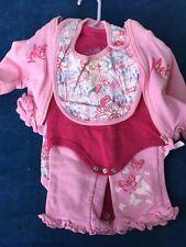 SALE @ Mark ECKO RED Butterfly Baby Romper Sleeper One Piece Set Girls Sz 6M