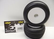 Brand New Front Wheels & Tyres (Pre-Glued Pair) For Carson Dazzler 105053