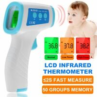 IR Non-Contact Infrared Digital Forehead Thermometer Baby Adult Temperature KZED