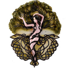 Selina Fenech Fairy Wall Plaque Earth Life Magic Fairie Decor Floral Sculpture