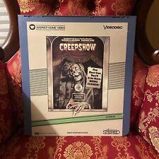 CREEPSHOW SelectaVision Video Disc Stephen King Horror VTG RCA