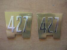 NEW 1965 FORD GALAXIE 427 FENDER EMBLEM INSERTS AMERICAN MADE QUALITY XL LTD