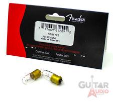 Genuine Fender T47 Replacement Amplifier/Amp Pilot Light Bulbs, Set of 2