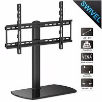 "Universal TV Stand Tabletop Pedestal Base For 32""-65"" Sony Vizio LG Flat Screens"