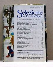 SELEZIONE DAL READER'S DIGEST - FEBBRAIO 1977