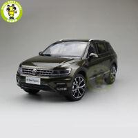 1/18 VW Volkswagen Tiguan L Diecast Metal SUV CAR MODEL Toys Kids gift Brown