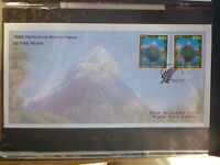 NEW ZEALAND 1995 NZ SCENERY MITRE PEAK 2 STAMP FDC FIRST DAY COVER