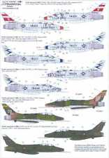 Xtra Decals 1/48 NORTH AMERICAN F-100F SUPER SABRE Two-Seaters