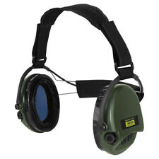 Sordin Supreme Pro-X Neckband Kapselgehörschutz Gelkissen Grüne Cups Gehörschutz