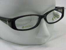 New ECO Earth Conscious Optics  1032 Black Modo RX Eyeglasses  52-14-140    E752
