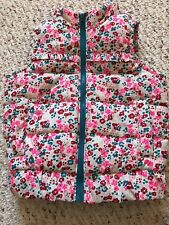 Genuine kids By Oshkosh Girls Puffer Floral Vest size 18m