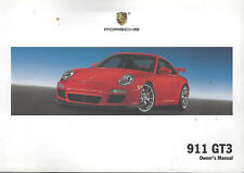 PORSCHE  911 GT3 Owner´s Manual 2010 Drivers Handbook Handbuch BA