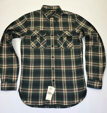 RRL By Ralph Lauren  Plaid Twill Work Shirt XS