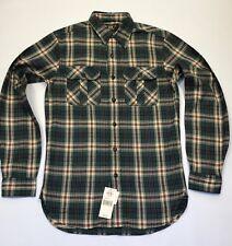 Rrl by ralph lauren plaid sergé chemise de travail xs