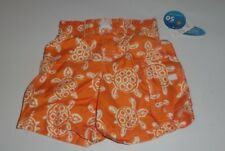 NEW Baby 24 Months WAVE ZONE Swimtrunks Turtle Sand Orange Shorts UPF 50