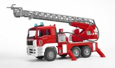 Bruder MAN Fire Engine Truck with Ladder Collection Toy Car Model 1/16 1:16