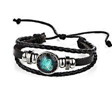 Damen Herren Surferarmband Sternzeichen Steinbock Grün Geschenk Bracelet Chunk