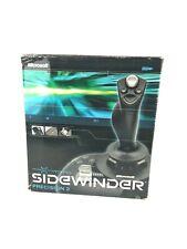 Microsoft SideWinder Precision 2 USB PC Joystick Flight Stick Original Box