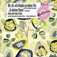 "7"" MARIA & FRANCO DUVAL Oh ich klopfe an deine Tür JIMMIE RODGERS HELIODOR 1958"