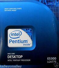 Intel BX80571E5300 SLGTL E5300 2M, 2.60GHz, 800MHz Retail Box (English version)