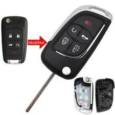 Modified Car Key Shell Case Cover Remote Flip Folding For Chevrolet Cruze Malibu