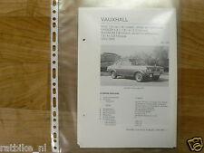 VA28-VAUXHALL VIVA 1,3L EN 1,8 L COACH, SEDAN,STATION