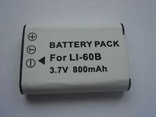 Batterie Li-60B EN-EL11 DB-L70 DB-80 D-Li78 pour Nikon Coolpix S01 NEUVE