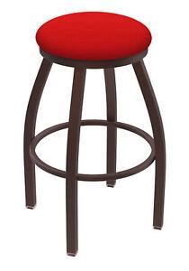 "Holland Bar Stool Co. XL 802 Misha 25"" Swivel Counter Stool with Bronze Finis..."